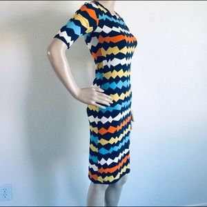 LuLaRoe Julia dress XXS NWT